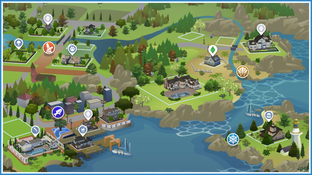 Brindleton Bay Mapa